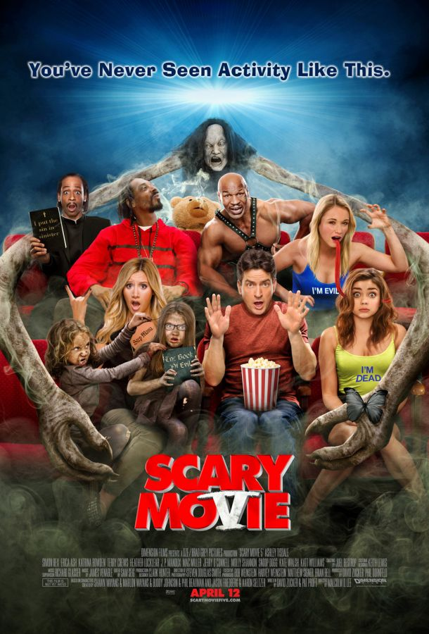 Movies Scary Movie 5 New Poster And Trailer W3rkshop